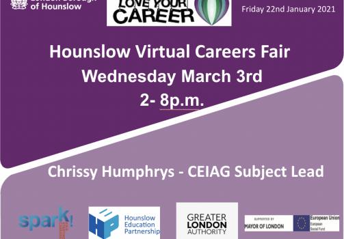 Hounslow Virtual Careers Fair –Love Your Career