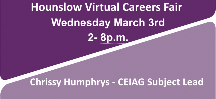 Hounslow Virtual Careers Fair –Love Your Career