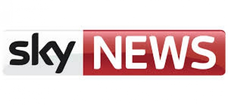 SKY News reports on laptop donations in Hounslow